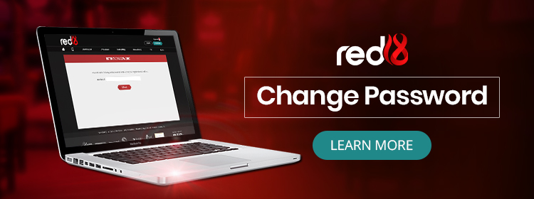 Changing Account Password at Red18